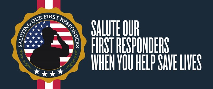 FIRST RESPONDERS BANNER