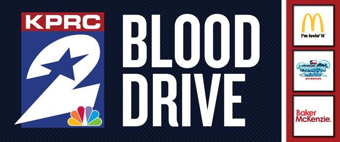 Image result for KPRC 2 Summer Blood Drive at Discovery Green